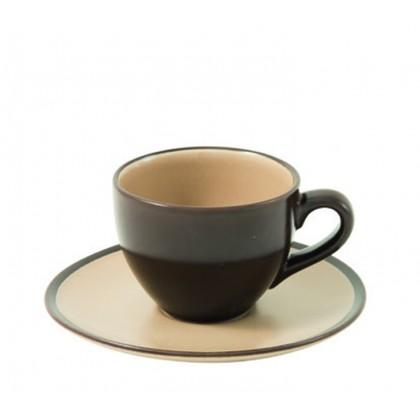 "6 tazzine caffè ""Living & Kitchen"" antracite"
