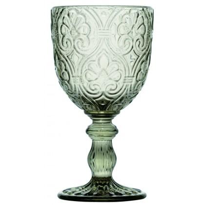 6 Calici Corinto grigio 300ml, bicchieri Fade Maison
