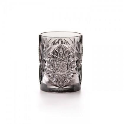 6 Bicchieri grigio Vintage decorato 300ml Fade Maison