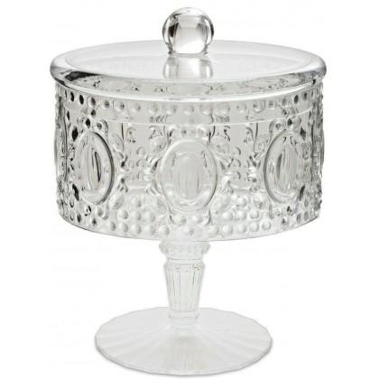 Mini biscottiera/Portaconfetti Baci Milano in crystal...